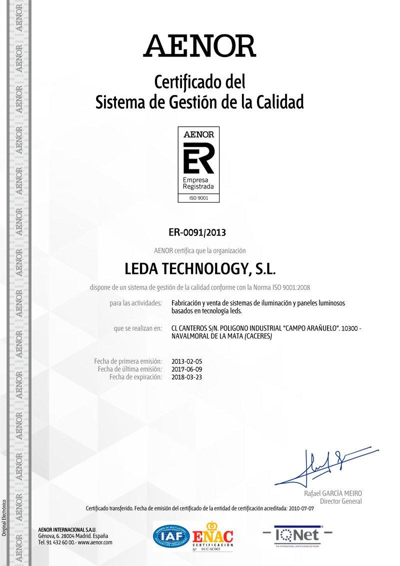 Panelux - Retroiluminación led - Rendertech