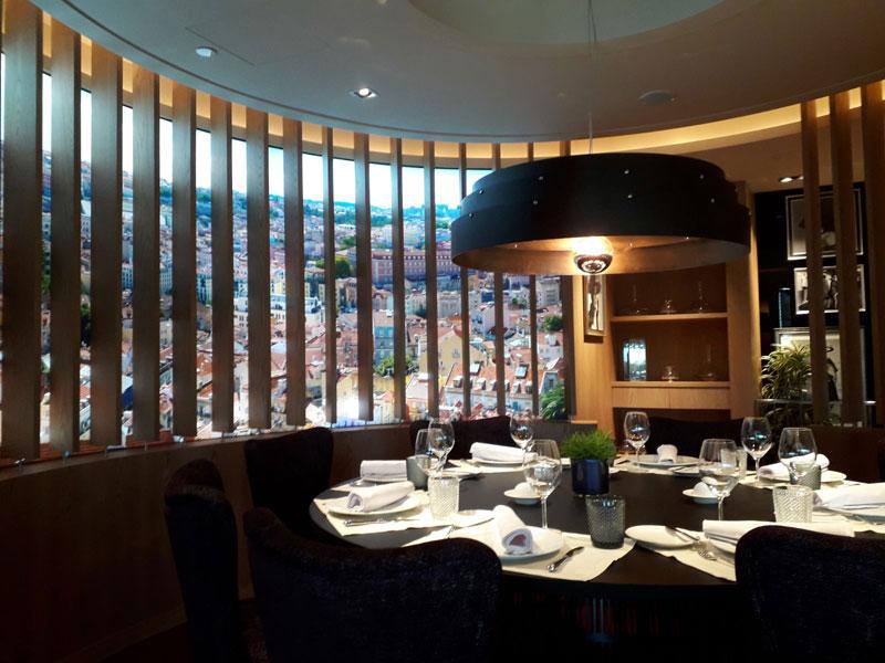 Restaurante Las Nubes. Lisboa