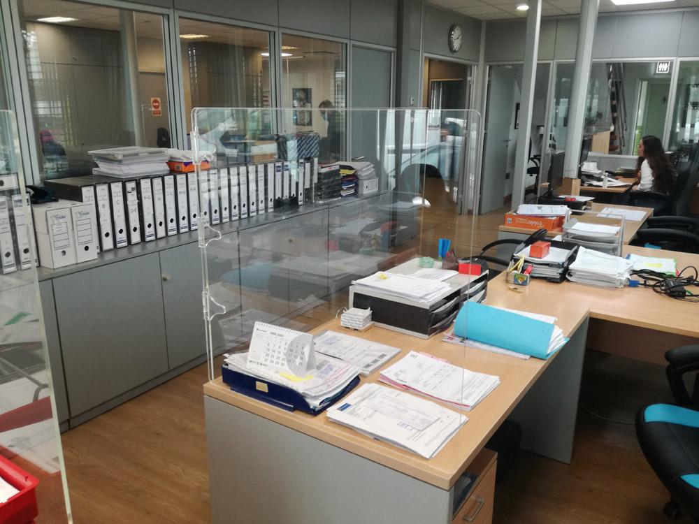 Mamparas para oficina - Rendertech