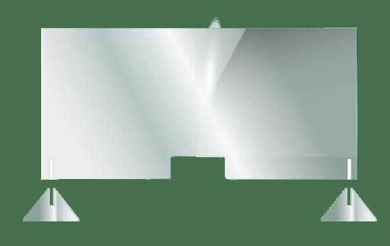 Mampara para mostrador de tienda - Rendertech